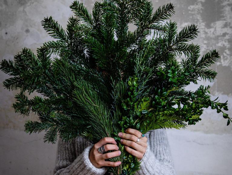 Essbarer Weihnachtsbaum
